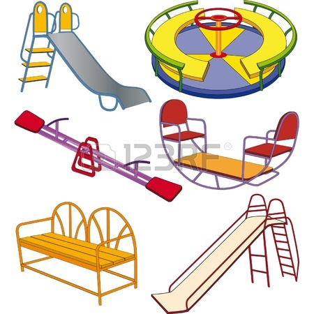 450x450 The Complete Set A Children's Swing. Clip Art Royalty Free