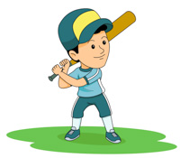210x175 Baseball Player Free Sports Baseball Clipart Clip Art Pictures