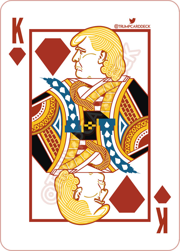 600x839 Donald Trump Playing Card Deck To Feature Tila Tequila, Milo