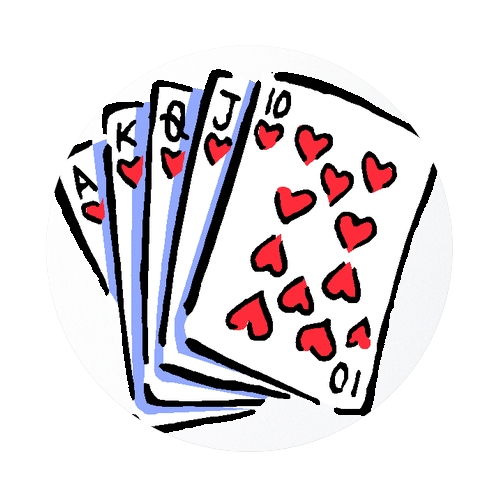 500x500 Deck Of Playing Cards Clip Art Free Vector In Open Office Drawing