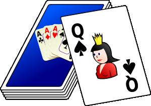 300x211 Cards Deck Clip Art