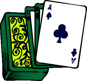300x277 Deck Of Cards Clip Art