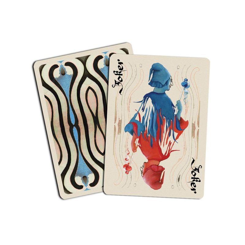 800x800 Bohemia Edition Blue Misprint Playing Cards Deck