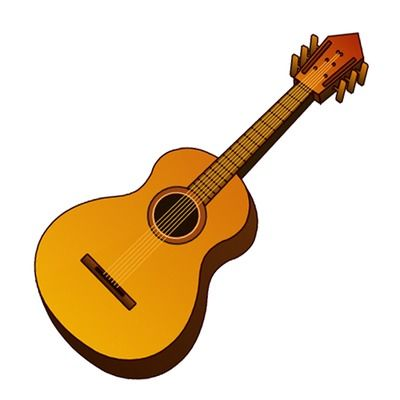 400x400 Guitar Clip Art Acoustic Music Instrument Icon Just Free Image