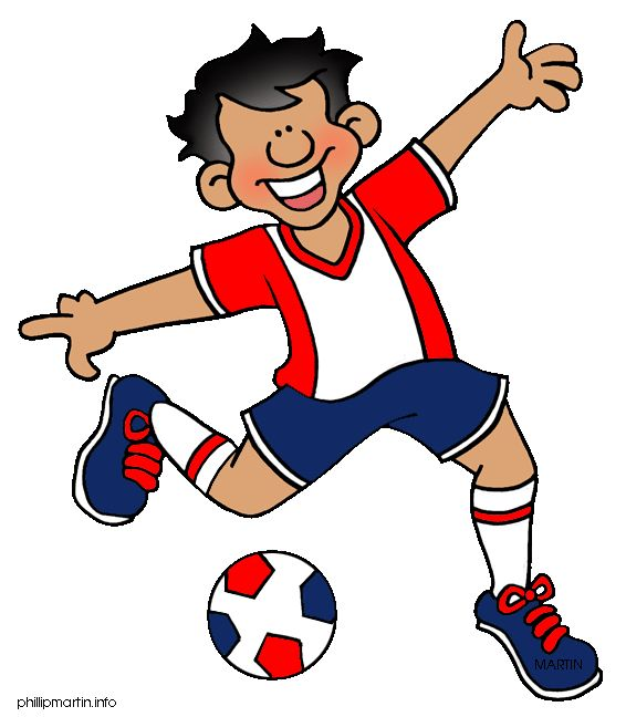 Playing Sports Clipart