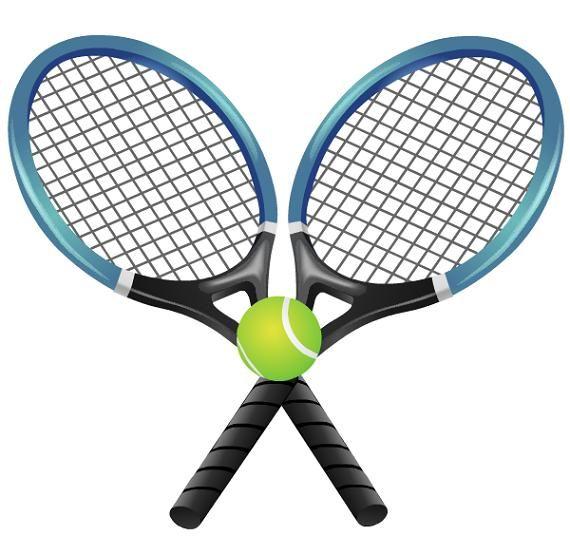 570x536 Clipart Tennis