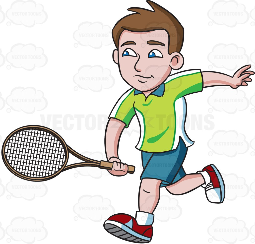 1024x980 A Tennis Player Chases A Ball To Volley Tennis Players
