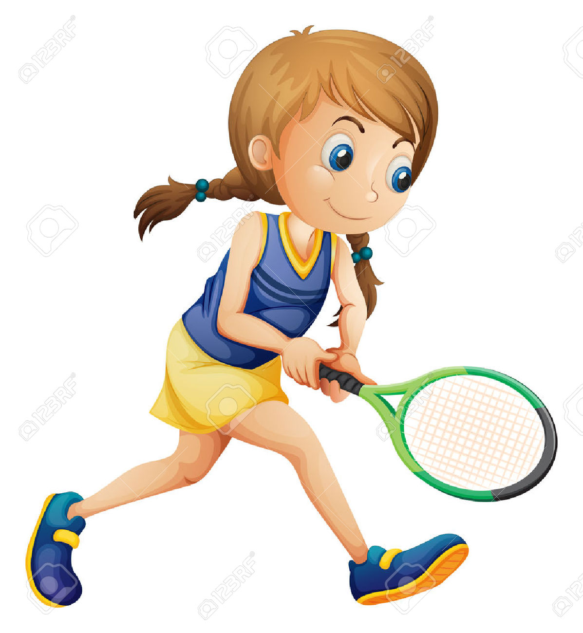1197x1300 Playing Tennis Clip Art Cliparts