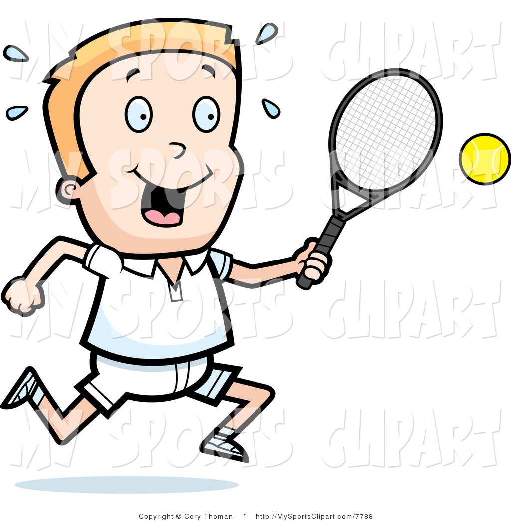 1024x1044 Sports Clipart Sports Clip Art Of A Tennis Boy With A Racket