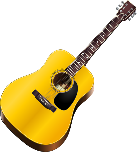 576x640 Free Christmas Guitars Clipart