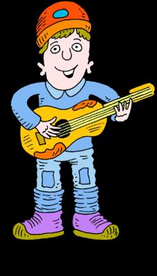 227x400 Image Man Playing Guitar