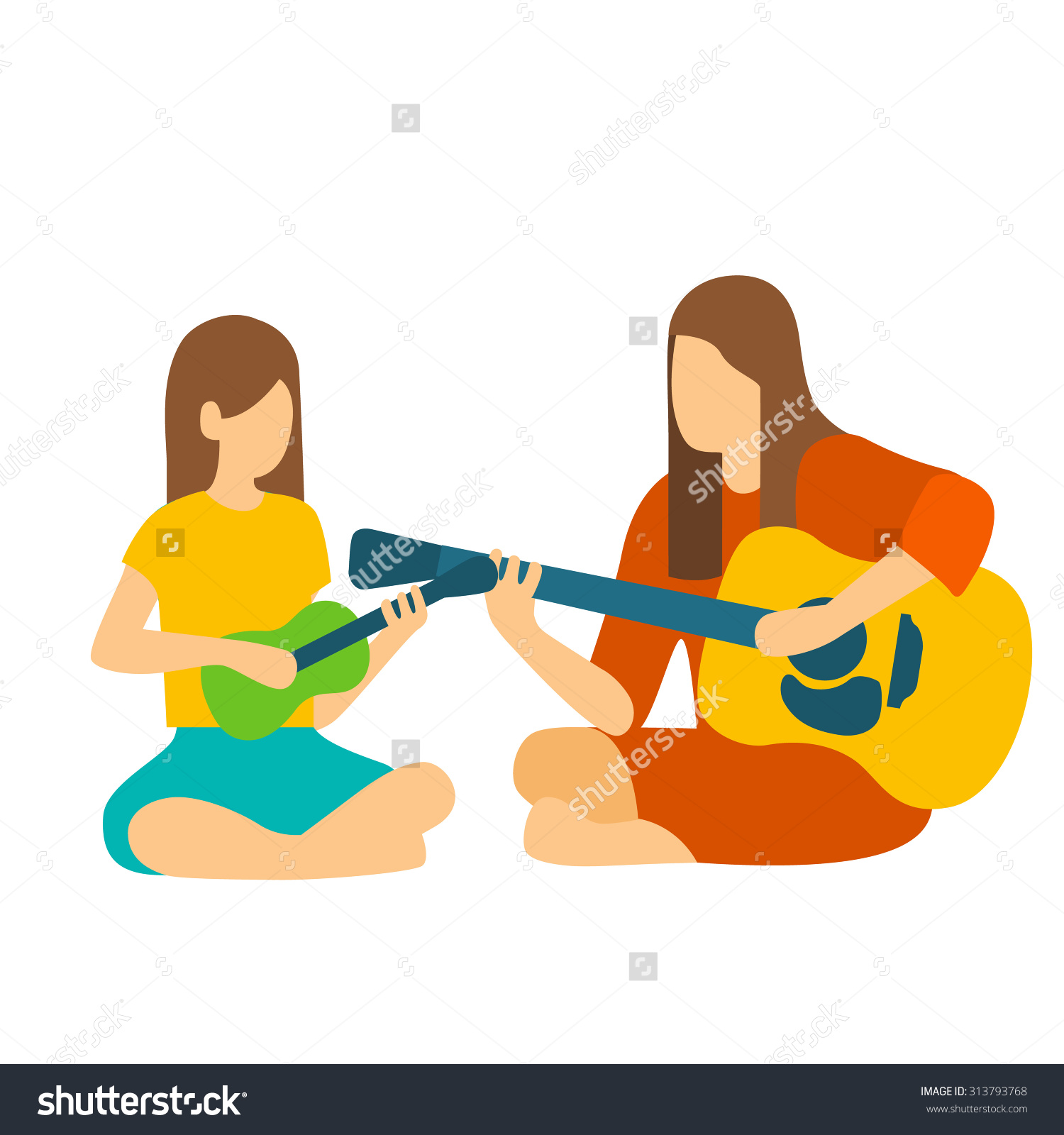 1500x1600 Musical Instruments And Teachers Clipart