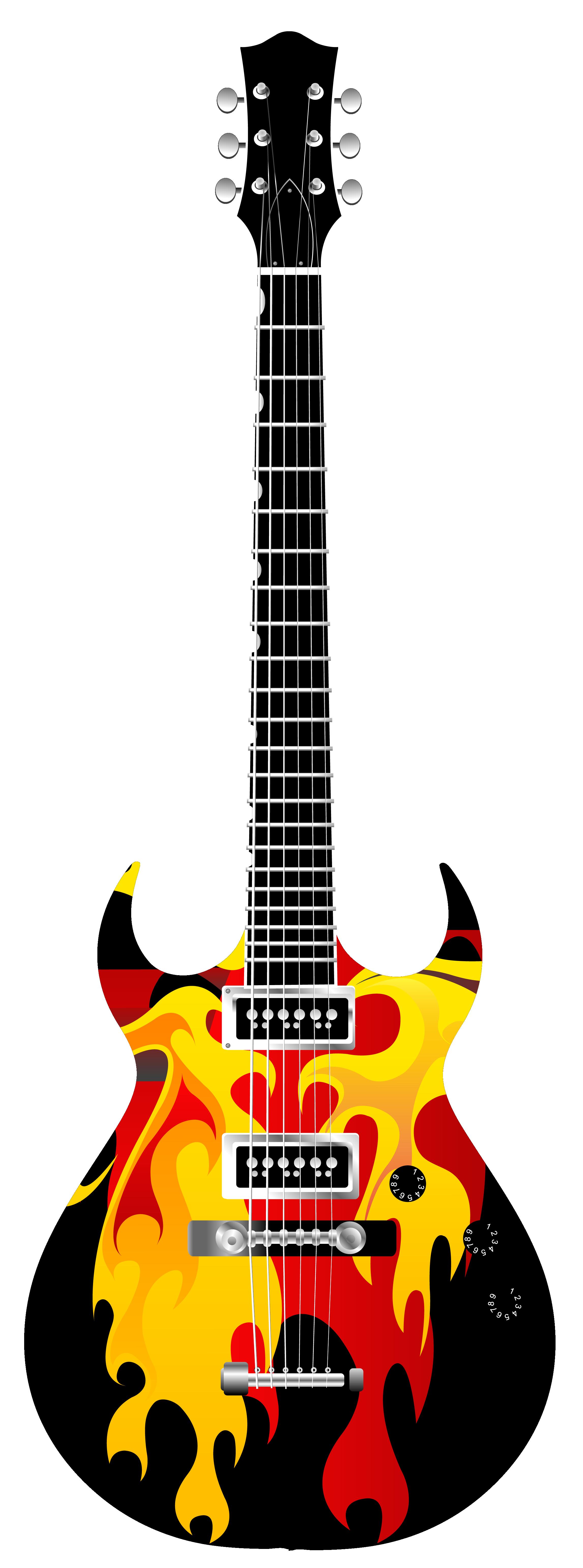 2293x6168 Guitar Mouth Clipart