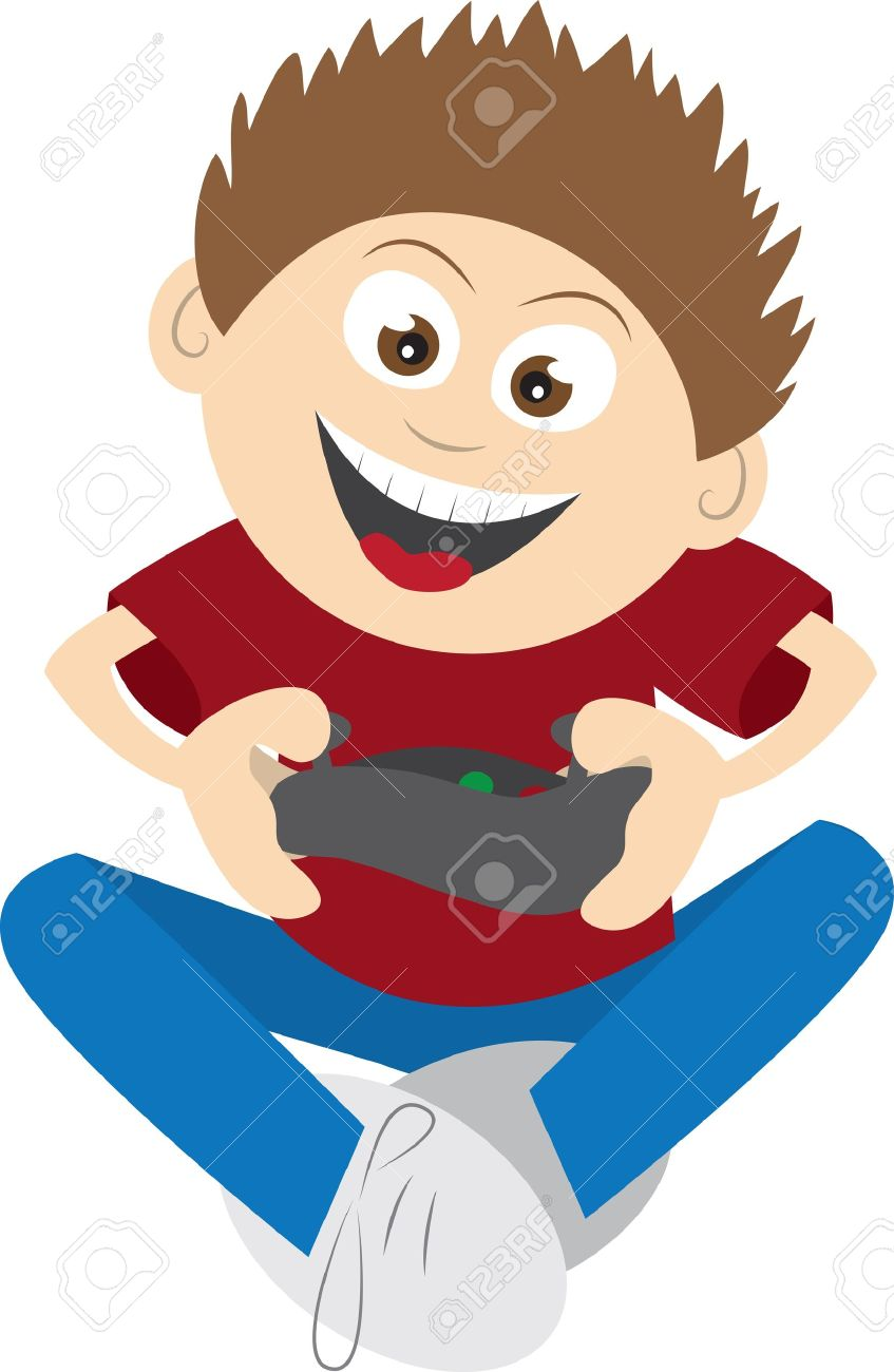 847x1300 Kid Playing Video Games Clipart Amp Kid Playing Video Games Clip Art