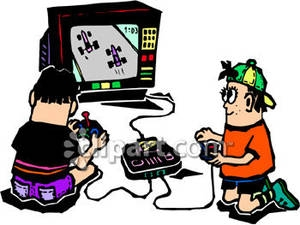300x225 Video Game Clipart Childhood Game