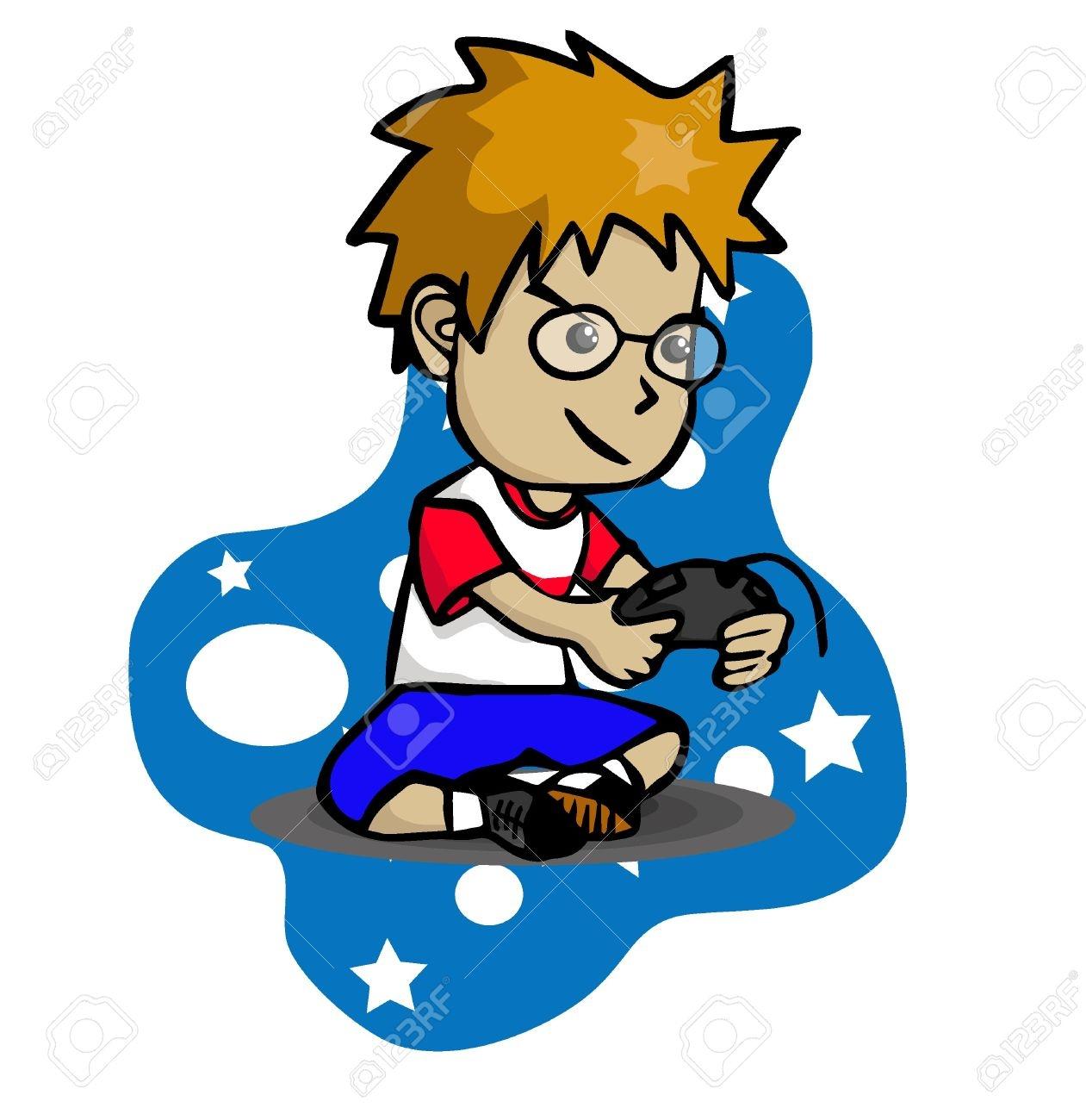 1261x1300 Boy Playing Video Games Clip Art My Site