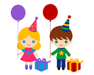 300x240 Free Kid Birthday Clipart
