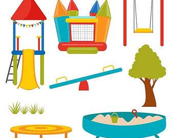 340x270 Playground Clipart Etsy
