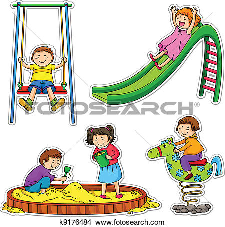 450x455 Playground Clipart School Playtime