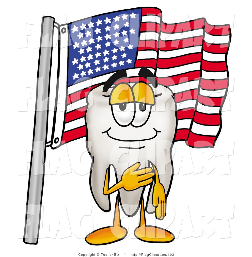 1024x1044 Clip Art Of A Patriotic Tooth Clipart Panda