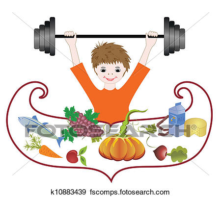 450x402 Clip Art Of Balanced Diet, Health Pledge K10883439