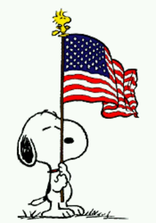 505x720 Snoopy 4th Of July Clipart