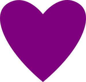 300x288 Heart Plum Clip Art