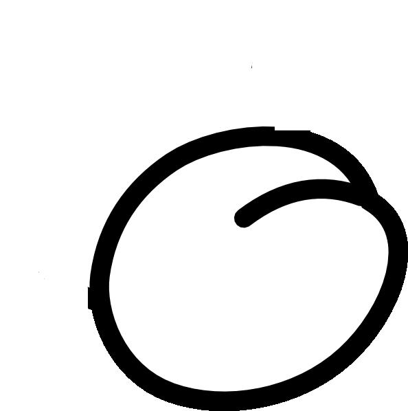 594x598 Plum Outline Clip Art