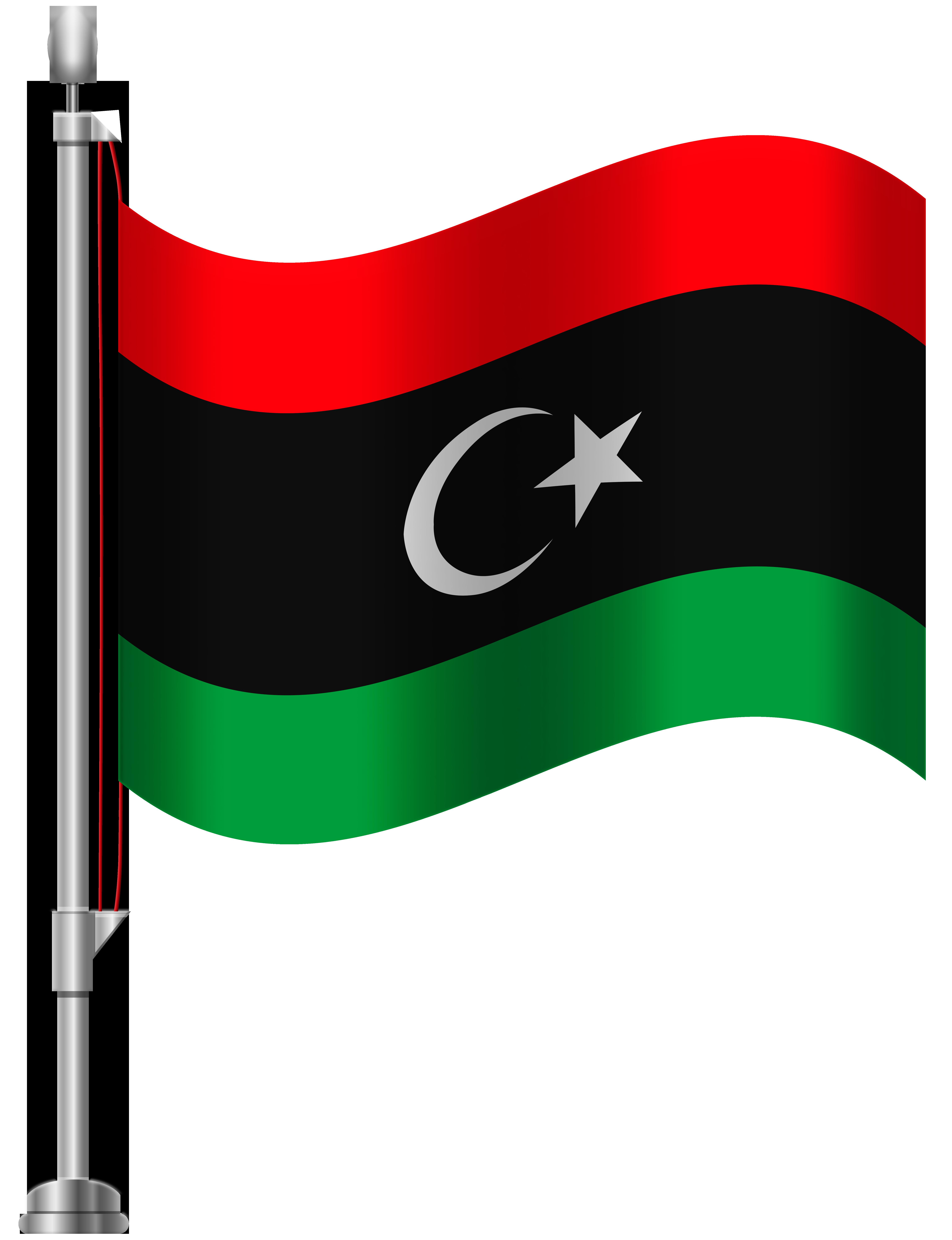 6141x8000 Libya Flag Png Clip Art
