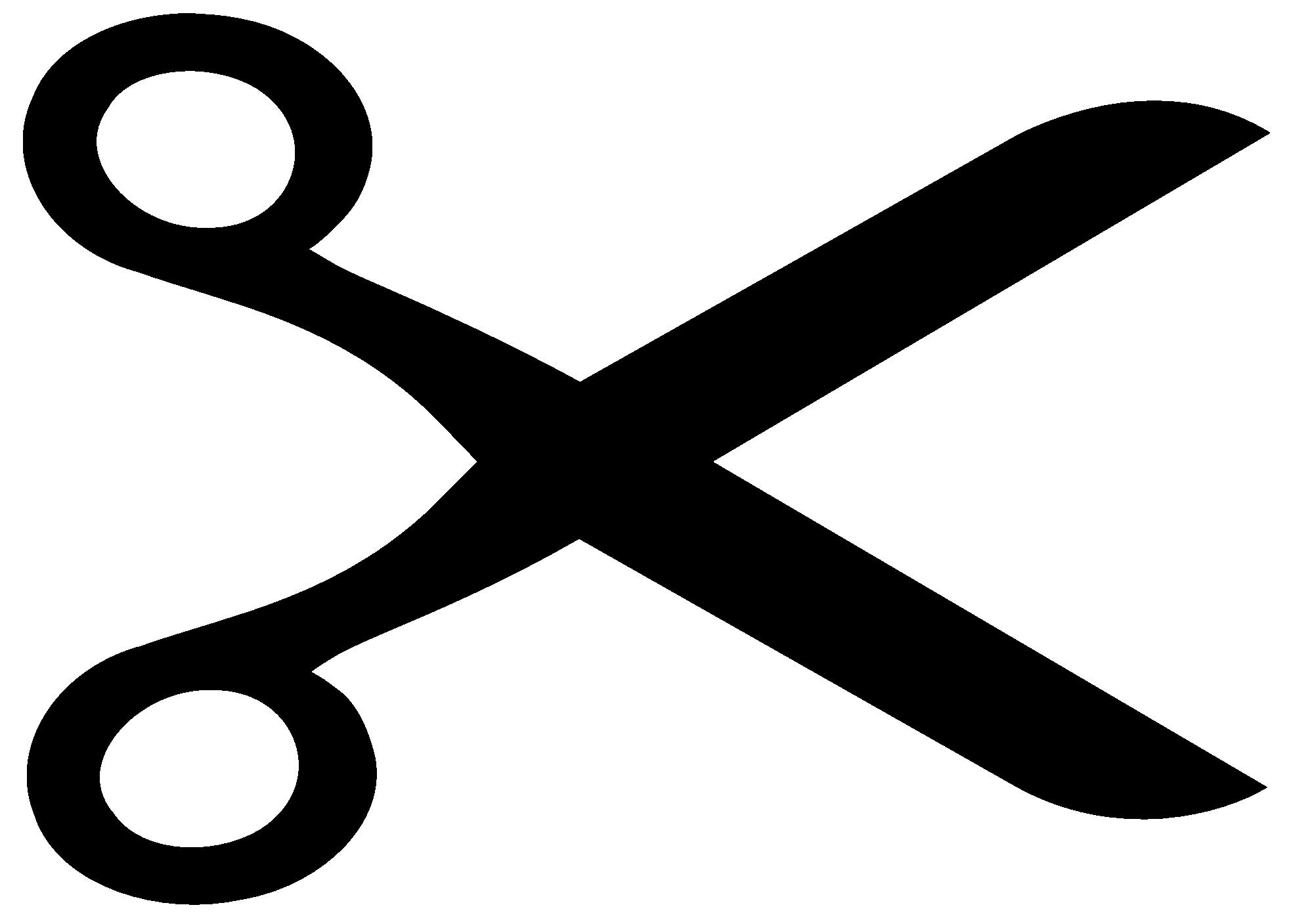 1969x1407 Clip Art Scissors Dotted Line Clipart