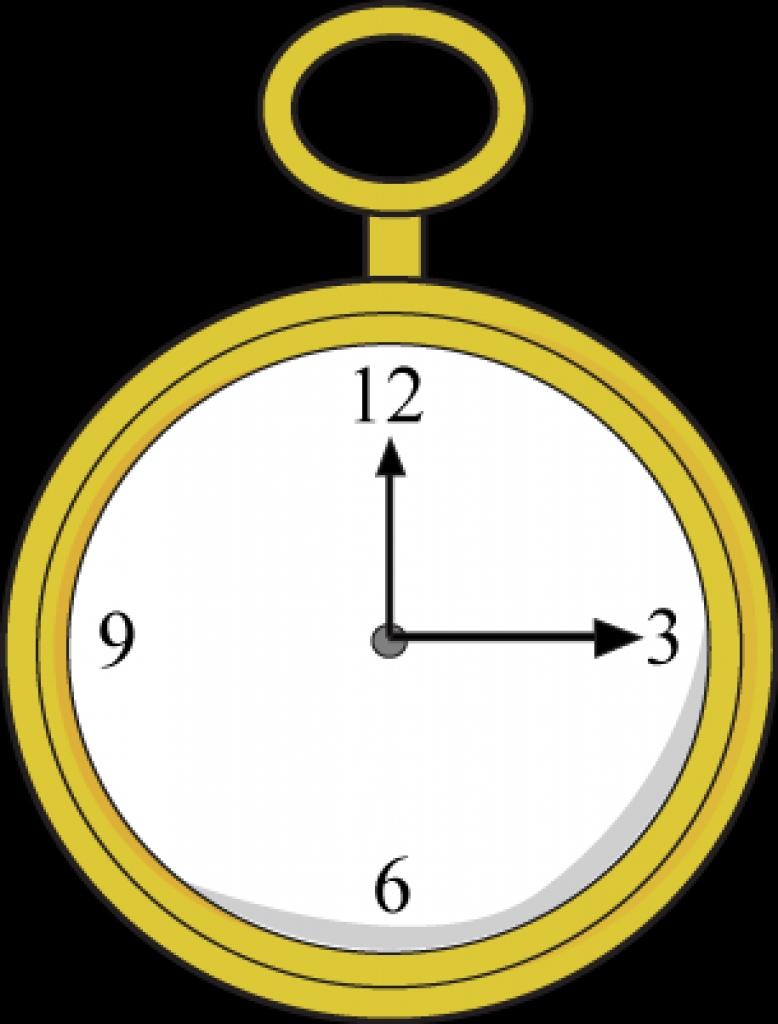 778x1024 Gold Pocket Watch Clip Art Gold Pocket Watch Imagefree Download