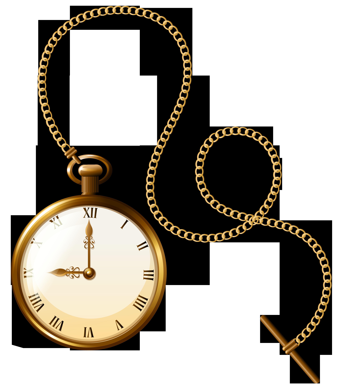 5127x5719 Pocket Watch Clipart Gold Watch