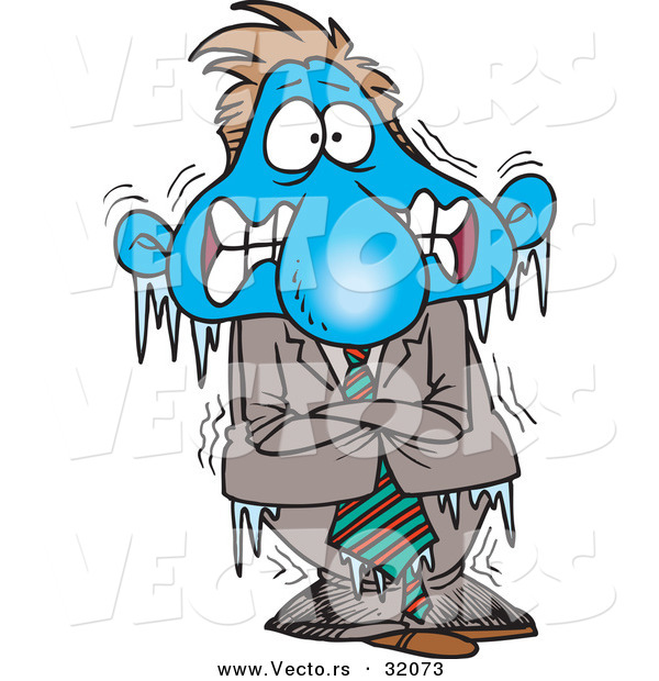 600x620 Freezing Cold Person Clipart