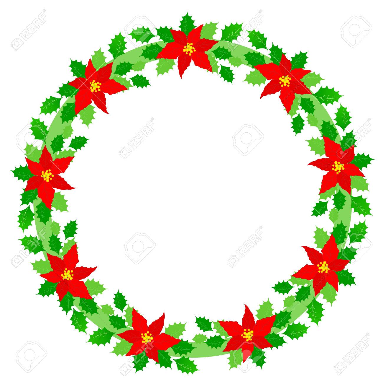 1299x1300 Poinsettia Clipart Beautiful Christmas
