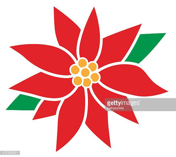 612x548 Poinsettia Clipart Flowering Plant