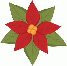 236x230 Layered Poinsettia Svg And Dxf Files Poinsettia, Filing And Svg File