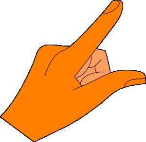 300x293 Finger Clip Art Download