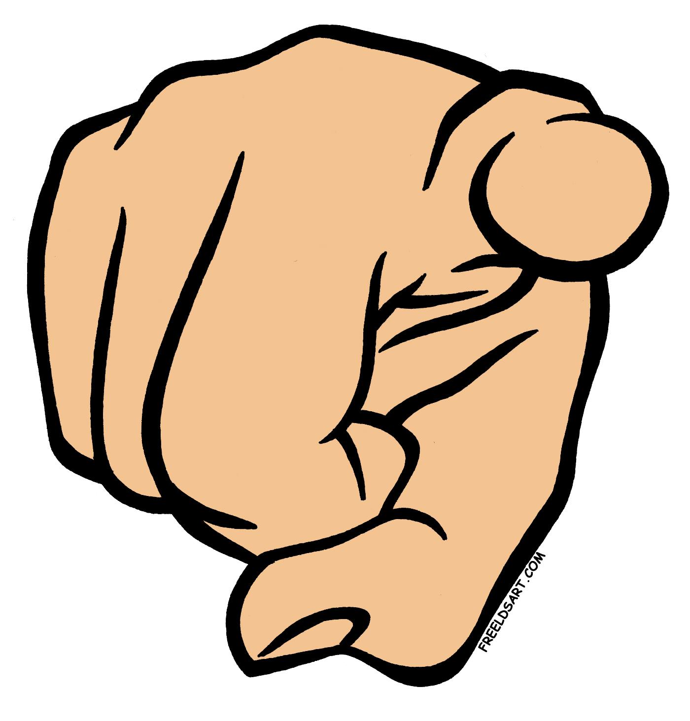1400x1464 Finger Pointing Clip Art
