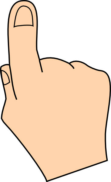366x599 Photo Collection Hand Pointing Finger Clipart