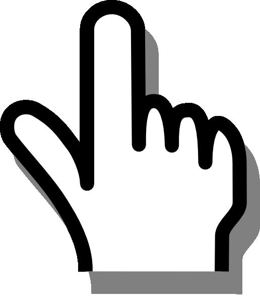 516x597 Pointing Finger Clip Art