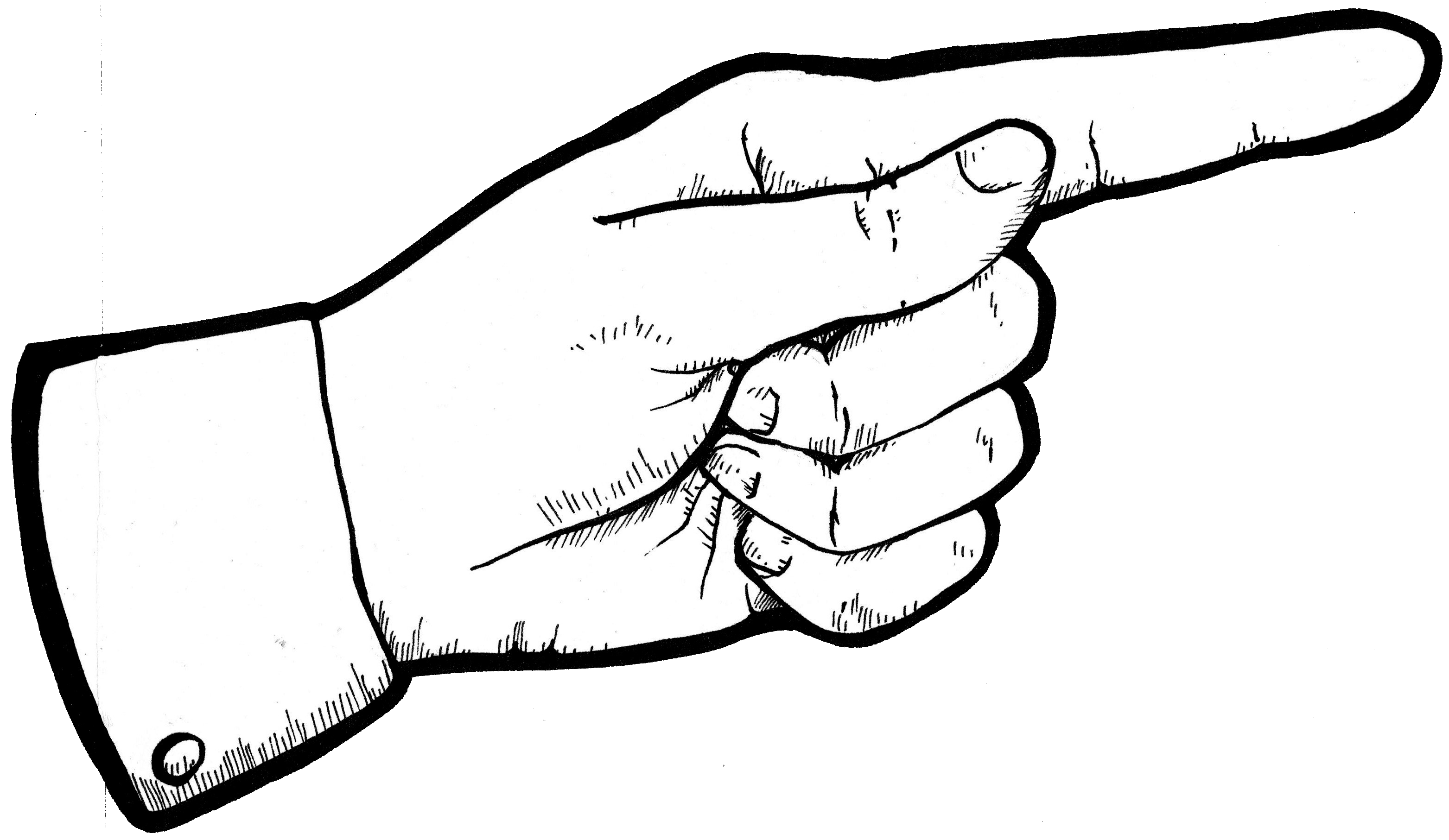 3126x1813 Right Clipart Finger Pointing
