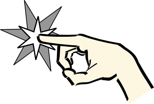 600x405 Pointing Hand Clip Art
