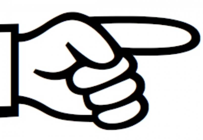 820x564 Finger Pointing Right Clipart Finger Pointing Right Clipart