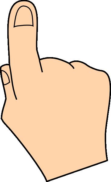 366x599 Finger Clip Art