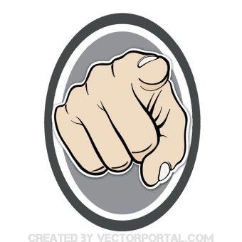 340x340 29 Pointer Finger Clip Art Vectors Download Free Vector Art