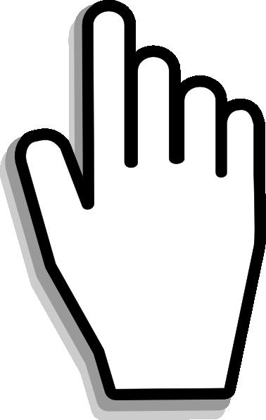 378x596 Hand Pointer Clipart