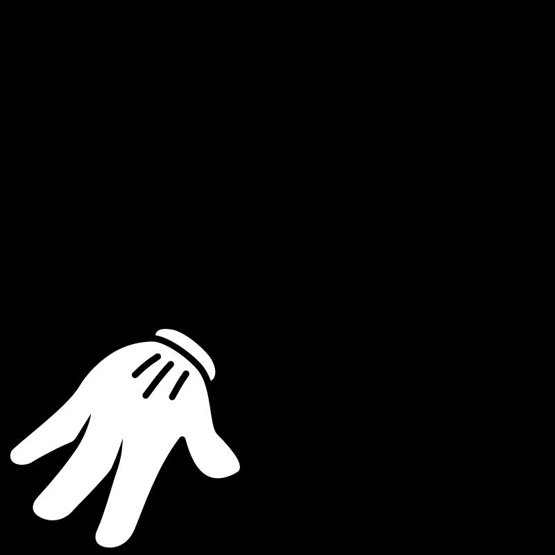 800x800 Left Pointer Finger Clipart