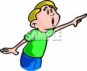 Pointing Clipart