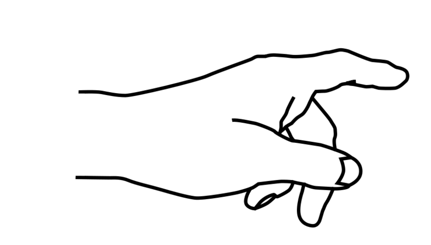 855x487 Pointing Finger Hand With Finger Pointing Clipart Free To Use Clip