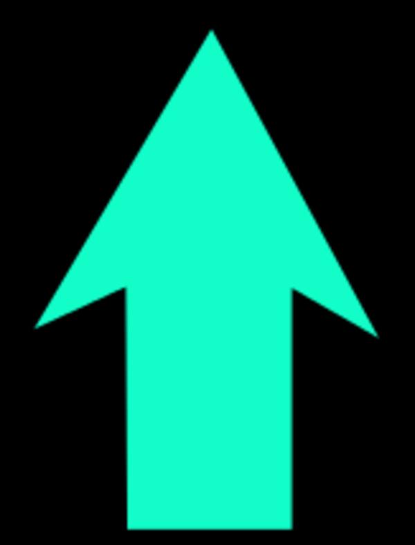 600x788 Clipart Down Arrow